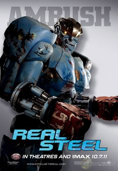 Real Steel Movie Poster x Ambush Man In Black, School's Out For Summer, Fighting Robots, Real Steel, Ex Machina, Alternative Movie Posters, Sale Poster, Photo Mugs, Prints
