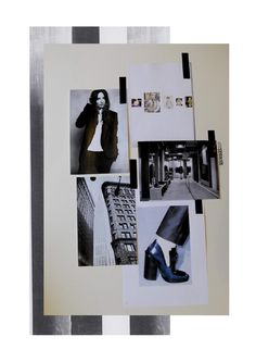 Fashion Moodboard - fashion design research & development; collection inspirations // Rachel Raheja