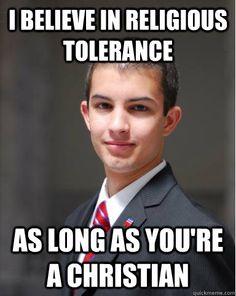 College Conservative memes   quickmeme