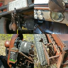 "Rat Rod ""features"". 1920 Model T."