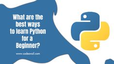Are you a beginner to learn python programming language? Codeavail experts will explain you the best ways to learn python programming for beginner. Python Programming, Programming Languages, Computer Science, Homework, Good Things, Learning, Study, Teaching, Studying