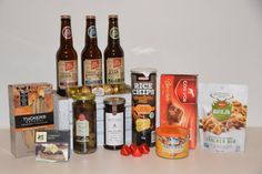 Contents: Bhuja Cracker Mix 150g Tuckers Crackers 110g Fererro Rocher 62.5g Mamee Rice Chips 100g Maggie Beer Cabernet Paste 100g Beerenberg