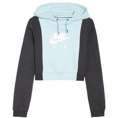 08383212ddac Women s Nike Air Rally Hoodie ( 65) ❤ liked on Polyvore featuring tops