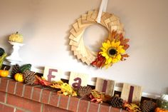 Fall Decor Challenge Season 17, Week 4 - So You Think You're Crafty