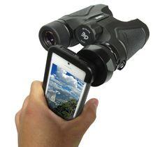 Carson HookUpz iPhone 4/4S/5 Adapter for Most Full Sized Binoculars (IB-542) by Carson, http://www.amazon.com/dp/B00BTBPCWA/ref=cm_sw_r_pi_dp_4a82rb0Y5S5T4