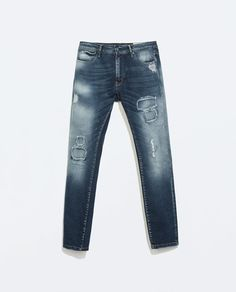 Image 6 of RIPPED JEANS from Zara REF. 5575/400