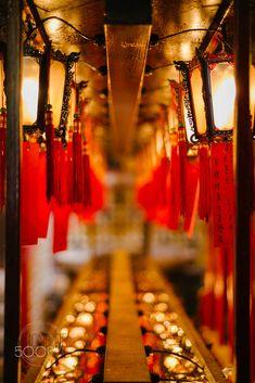 Chinese Lanterns at Man Mo Temple Chinese Lanterns, Hong Kong, Temple, Temples