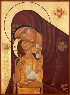 Lyuba Yatskiv : Madonna and Child