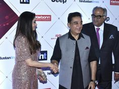 Candid moment from HT most stylish award 2018