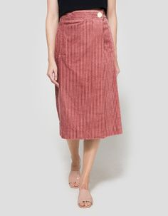 The Midi SkirtGet your Tumblr-pink on with a ladylike skirt that pairs well with…