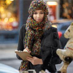 Modell 371/4, Mütze und Schal aus Soraya von Schachenmayr « Schachenmayr « Strickmodelle weitere Marken « Stricken & Häkeln im Junghans-Wolle Creativ-Shop kaufen