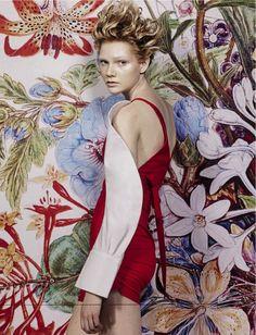 Vogue Italia - Marzo 2016 Photographer – Craig McDean (Art + Commerce) | Fashion Editor – Alex White | Hair – Shay Ashual (Art Partner) | Makeup – Diane Kendal (Art + Commerce) | Nails – Megumi Yamamoto