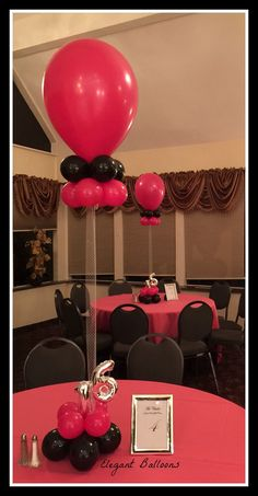 www.elegant-balloons.com Sweet 16 Decorations, Number Balloons, Balloon Ideas, Numbers, Centerpieces, Fancy, Elegant, Classy, Chic