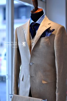 Caccioppoli Linen Suits