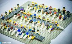 Bordsplacering Bröllop Lego