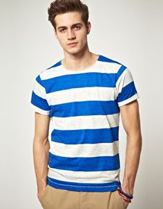 Jack & Jones Intelligence Bold Stripe T-Shirt
