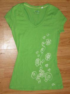BLEach PEN design Shirt WEARABLE art Light Green by heartChicago, $20.00  WWW.ETSY.COM/SHOP/HEARTCHICAGO