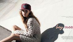 ELLE DENMARK - NOV 2014 photography: Sean Mcmenomy styling: Josephine Aarkrogh model: Josephine Skriver