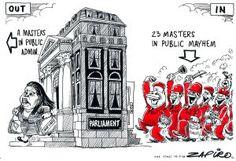 Zapiro: Mazibuko and the EFF - Juju is great for bringing some colour to everything. Satire, Cartoons, Politics, Rocks, Colour, Image, Color, Cartoon, Cartoon Movies