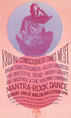 Janis Joplin: week in The band played at the Mantra-Rock Dance on January at the Avalon Ballroom in San Francisco. Other guests included Allen Ginsberg and The Grateful Dead. Hippie Music, Hippie Man, Thailand Beach, Ontario, Grateful Dead Poster, Vintage Concert Posters, Retro Posters, Vintage Posters, Allen Ginsberg