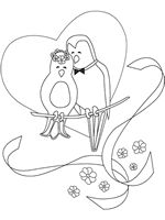 Kids Favors Free Printable Wedding Coloring Pages