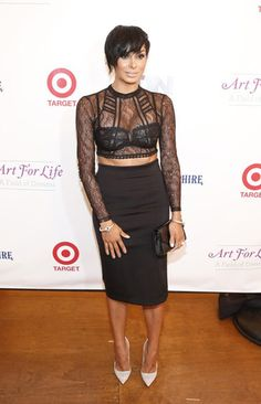 Laura Govan Attends the 15th Annual Art For Life Event