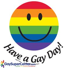 Have a Gay Day Sticker
