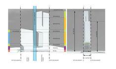 UNStudio designs the new UIC building 'V on Shenton' in Singapore,Zoning © UNStudio