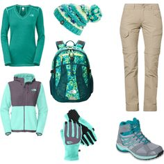 """""""trekking outfit"""" by me on Polyvore ;)"""