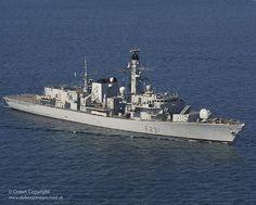 Royal Navy Type 23 frigate HMS Argyll.
