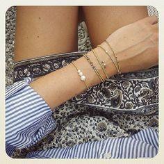 "ANNI LU på Instagram: ""Regram from b e a u t i f u l @eebbbambi wearing ANNI LU bracelets Thank you for sharing #annilu"""