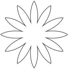 Çiçek Şablonları - Projedenizi