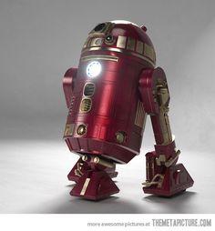 Iron Man R2D2 - Uber Geek Love