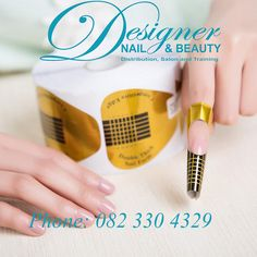 Get our lovely double thick nail forms for your salon today!  Are you an owner of a salon or are you thinking about opening a new salon?  Well then why not use the best to ensure your clients the best!  Over at Designer Nail And Beauty we stock a large range of products and items, ranging from Mani/Pedicure accessories all the way to bonding agents and make up trollies!   Feel free to view all our items on our website below:  https://www.designernailandbeauty.co.za/  Phone: 082 330 4329…