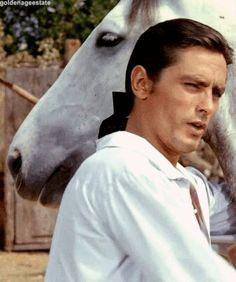 Alain Delon ~ The Black Tulip, 1964 Anouchka Delon, Black Tulips, Violet Eyes, Old Paris, Classic Movie Stars, Classic Beauty, Old Hollywood, Find Image, Beautiful Men