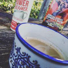 photos cred @matt_oliphant_thrive - close up of some PowerCreamer / Kimera Koffee action!