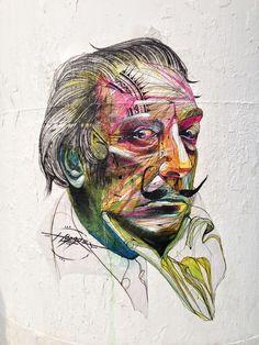 """""""Dali"""", Hopare, Paris Centre Pompidou, 2013."""