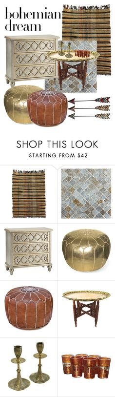 """""""Bohemian Dream: Moroccan Decor"""" by natalijagrig ❤ liked on Polyvore featuring interior, interiors, interior design, home, home decor, interior decorating, Moroccan Prestige and moroccandecor"""