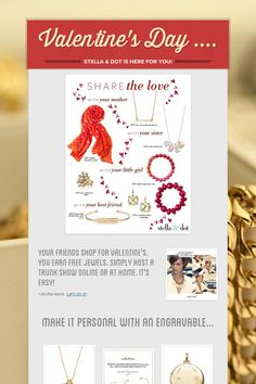 Stella & Dot for Valentine's Day ..... Please share! :)