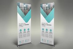 Insurance Roll Up Banner by UNIK Agency on Graphics Author - Graphic Sonic Letterhead Template, Brochure Template, Banner Design, Flyer Design, Pop Up Banner, Print Templates, Design Templates, Presentation Design Template, Marketing Flyers