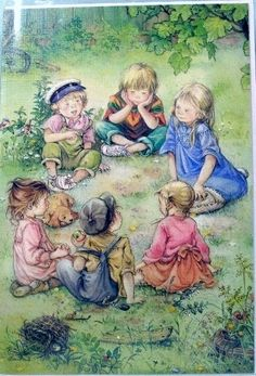 Lisi Martin -  this reminds me of the kids in the Rainbow Valley - Anne book...