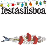 The international Sardine Contest Festas De Lisboa 2016 aims to stimulate creativity by welcoming interpretations of sardines that will be used as part of Festas de campaign. There is no theme. Portugal, Hostel, Editorial Design, Saints, Rocks, Fish, Illustrations, Popular, Friends