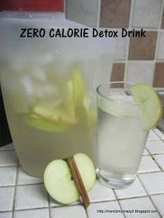 Detox Apple Cinnamon Water ... Pinned it, Tried it and LOVED it