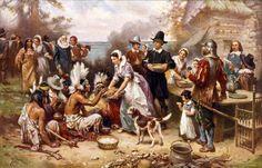 Thanksgiving et ses débuts avec les indiens