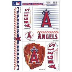 "MLB Angels 07784052 Multi Use Decal, 11"" x 17""  http://allstarsportsfan.com/product/mlb-angels-07784052-multi-use-decal-11-x-17/  Officially Licensed Product Quality materials used for all Wincraft products Cheer on your team with products from Wincraft and express your pride!"