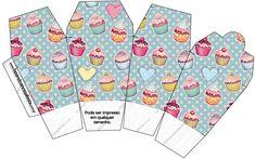 Caixa China in Box Cupcakes:
