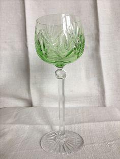 Slipat vinglas, 19,5 cm, 6 st.