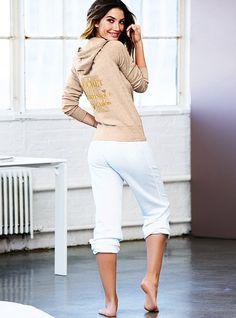 Fleece Crop Pant - Supermodel Essentials - Victoria's Secret
