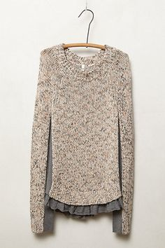 Apsara Pullover  #anthropologie