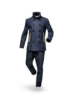 I would wear this to a fashion show and jump in it.... G-Star by Marc Newson Menswear - Fall/Winter 2012